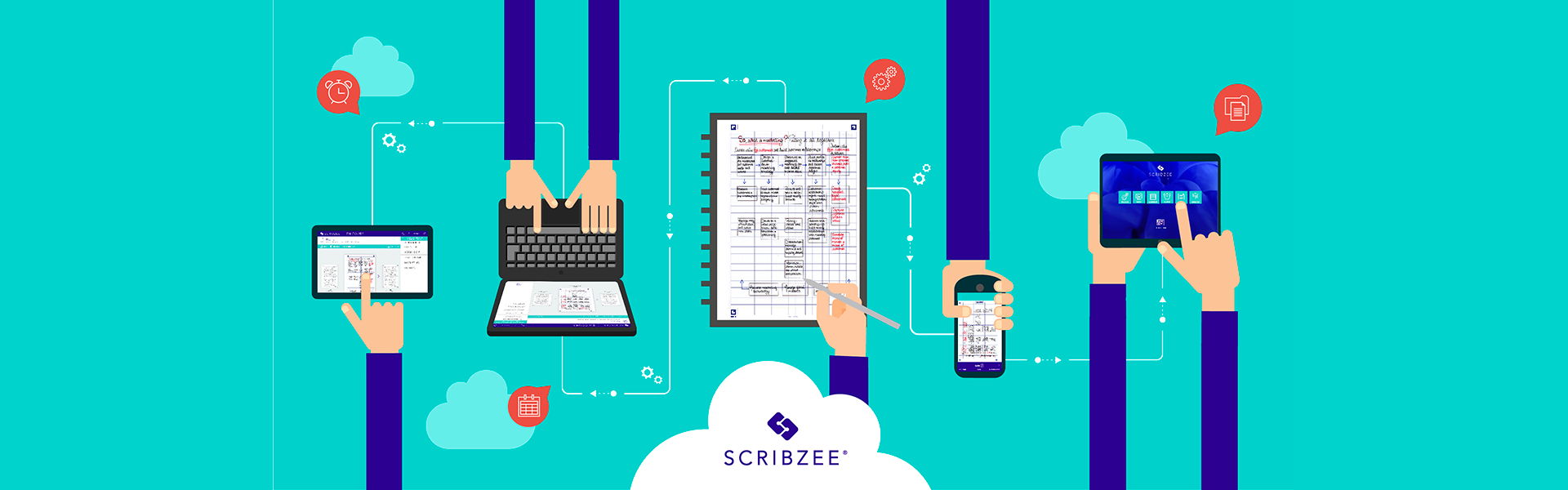 SCRIBZEE App Handwritten notes management_scan_save_access_share